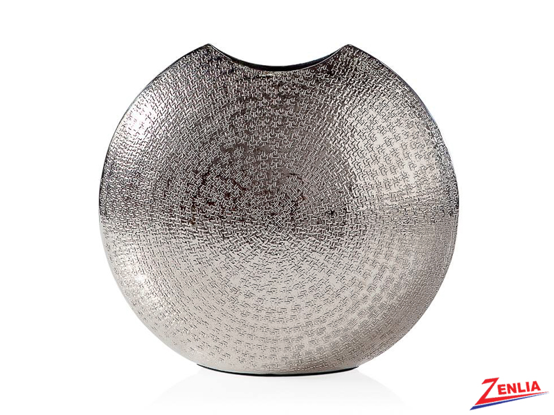 Tib  Silver Round Vase