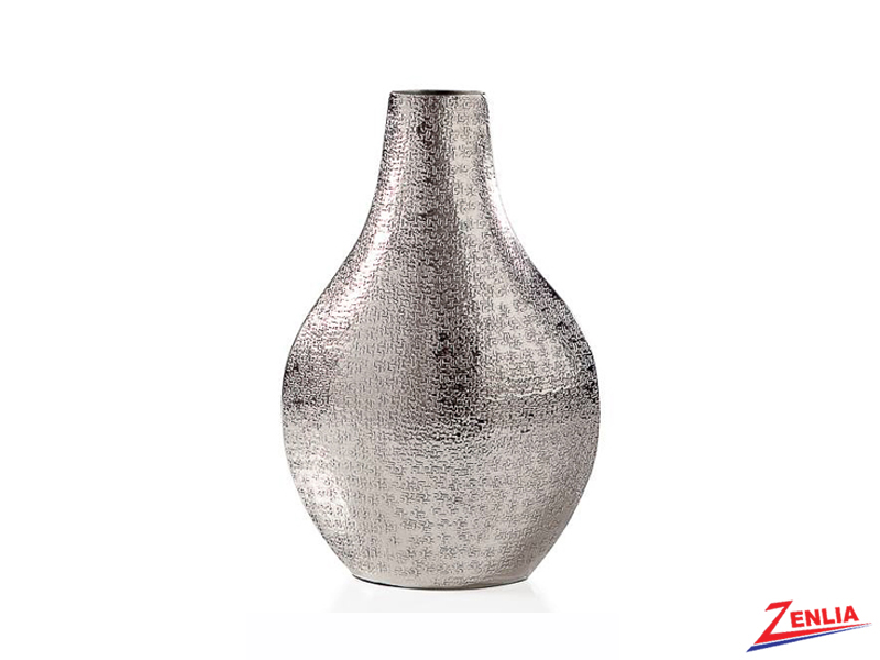Tib Small Silver Bottle Vase