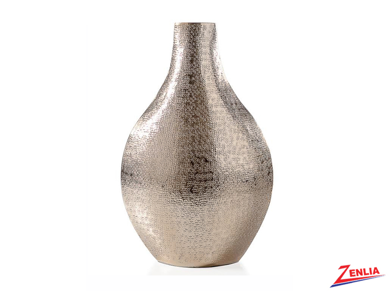 Tib Gold Bottle Vase