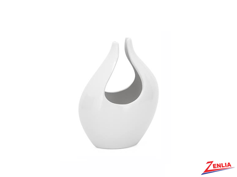 Kir White Small Vase