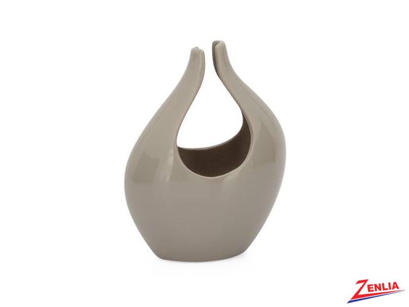 Kir Warm Grey Small Vase