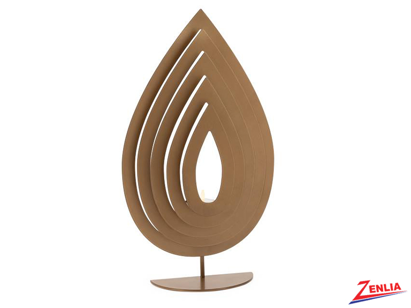 Metal Flame Tealight Holder