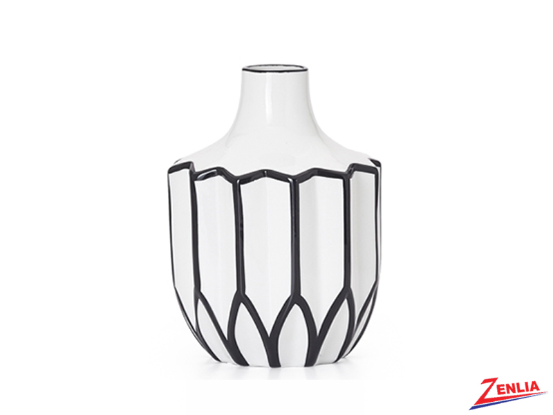 Abstra Small Linear Ceramic Vase