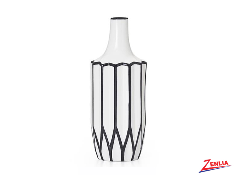 Abstra Linear Ceramic Vase
