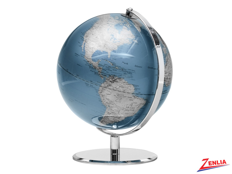 Indigo Blue - Latitude World Globe
