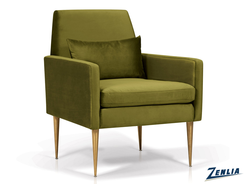 Emer Olive Lounge Chair