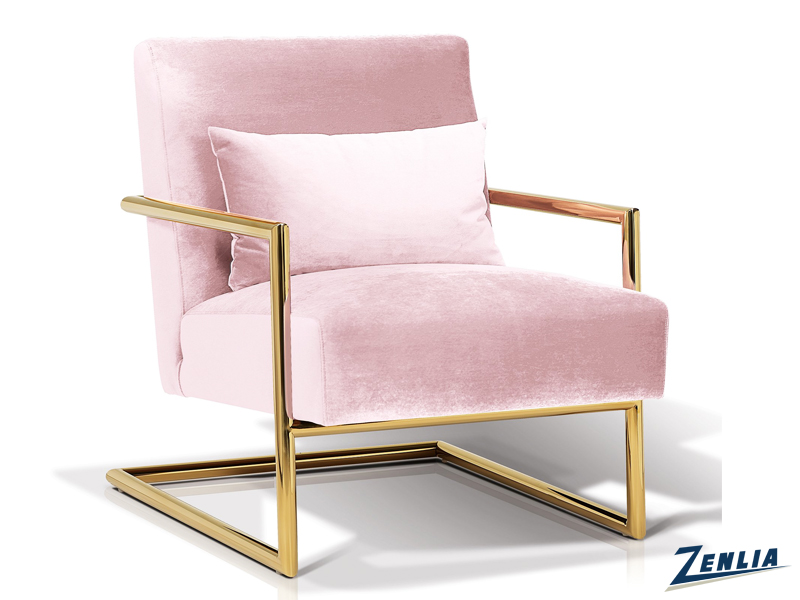 Lockle Blush Lounge Chair