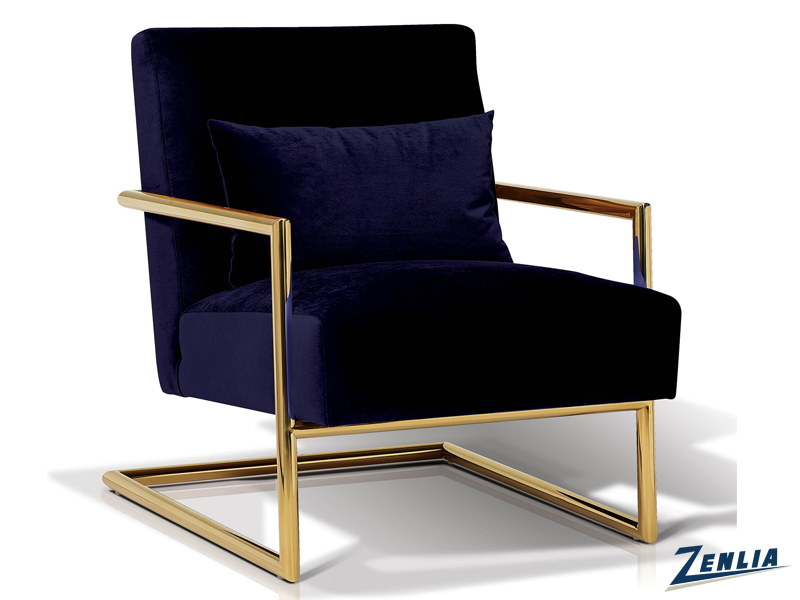 Lockle Indigo Lounge Chair