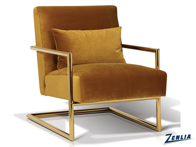 Lockle Mustard Lounge Chair