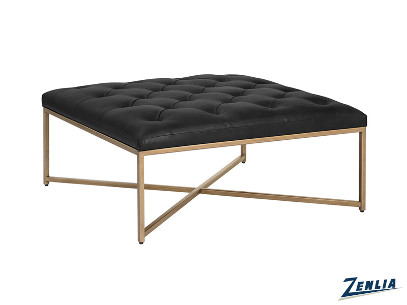enda-vintage-black-ottoman---coffee-table-image