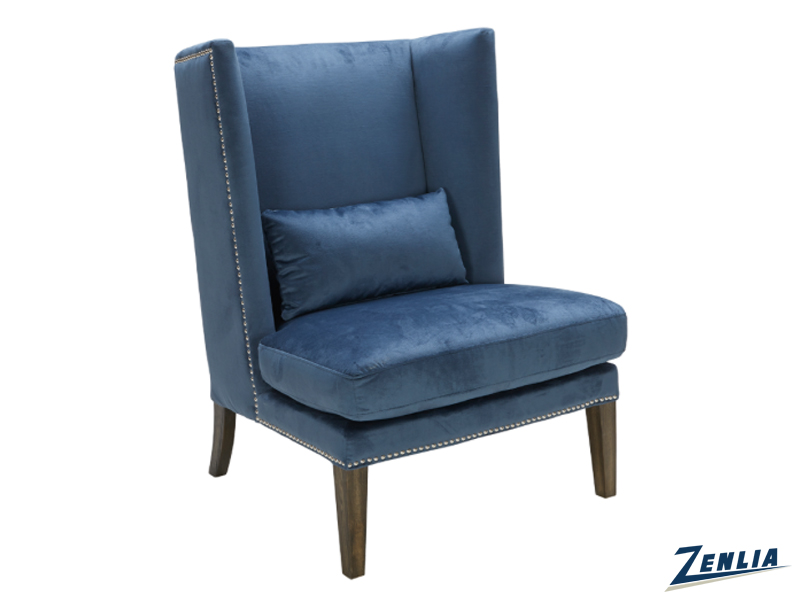 Mali Wing Chair Blue