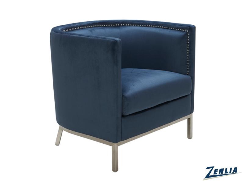 Wal Armchair Blue