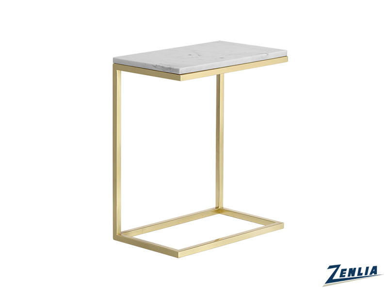 Ame White End Table