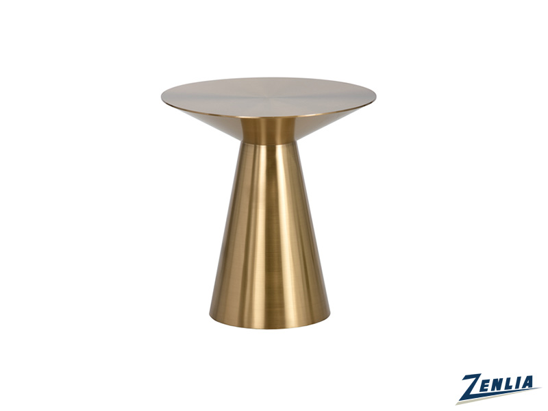 Carm Gold End Table