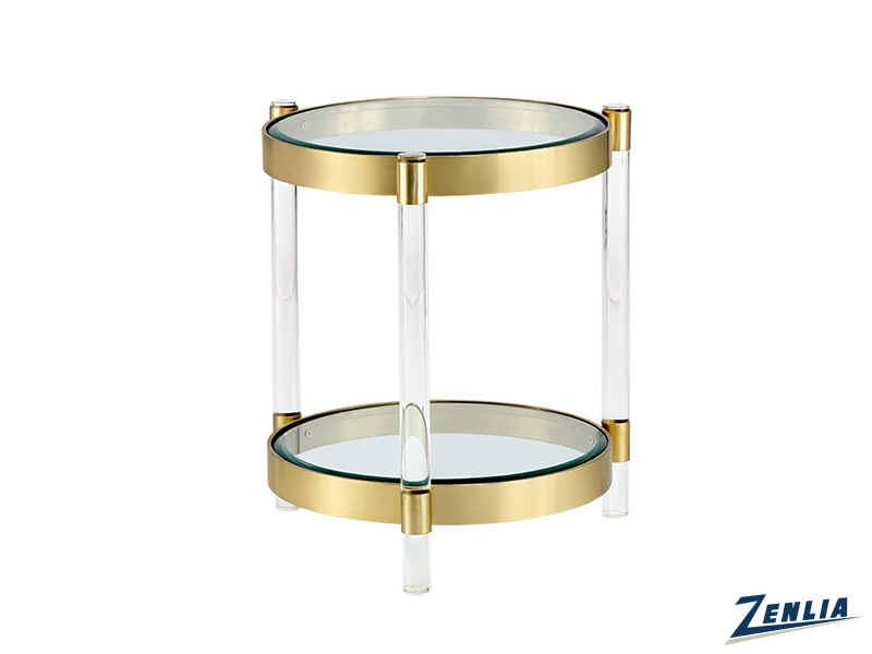 Yor Glass End Table