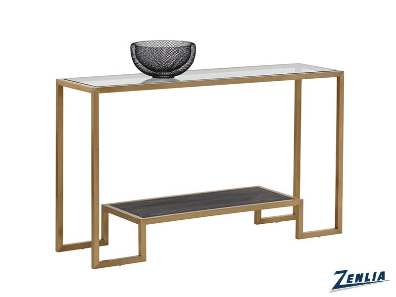 Carv Console Table