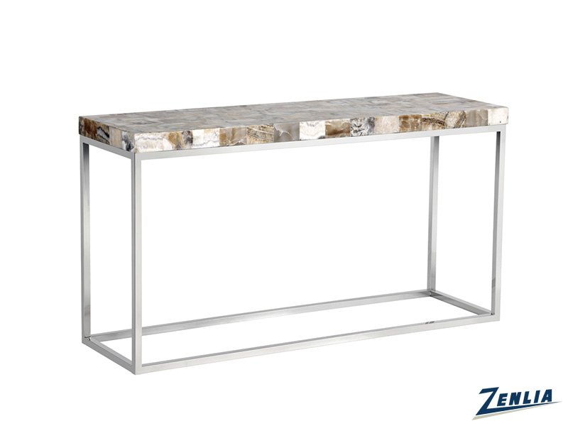 Ange Wood Console Table