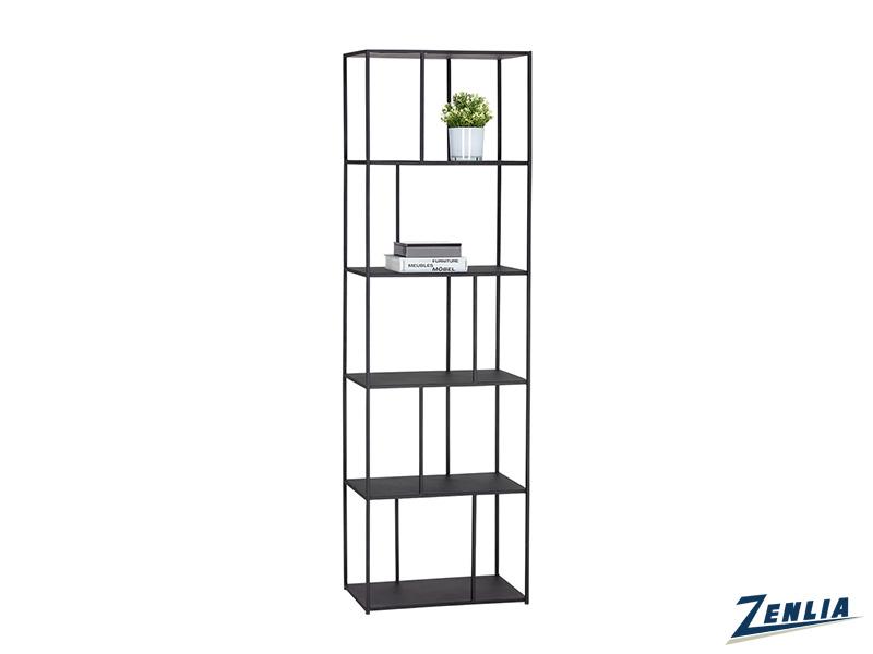 Eiff Small Black Bookcase