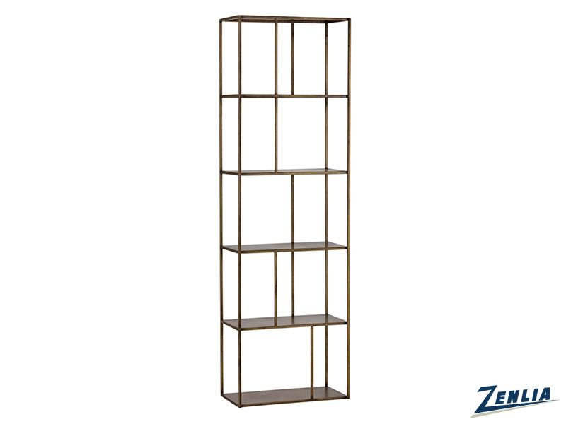 Eiff Small Brass Bookcase