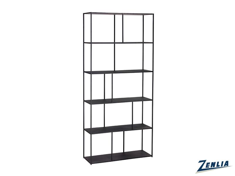 Eiff Large Black Bookcase