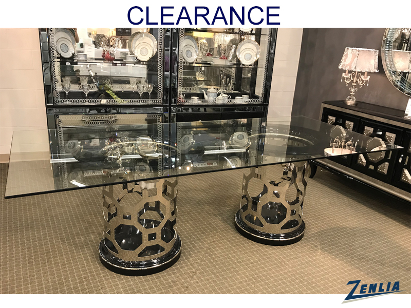 After Rectangular Glass Dining Table On Clearance