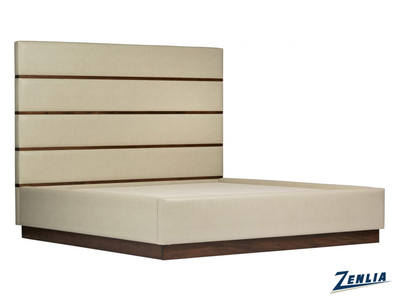Davo Wood Upholstered Bed