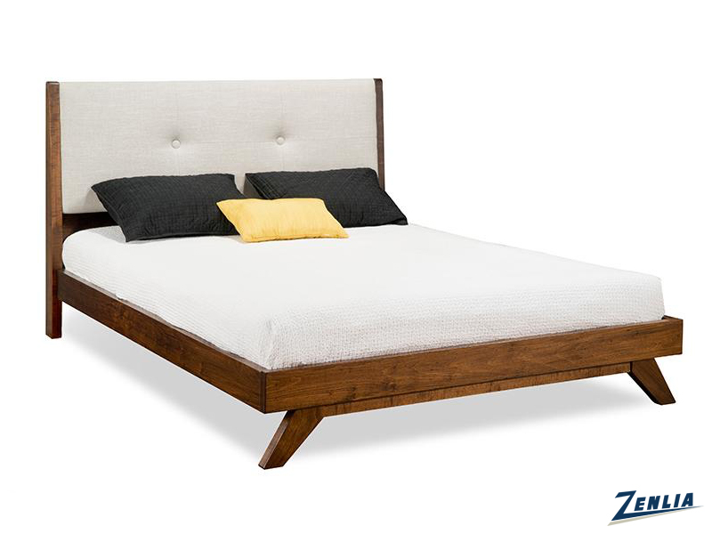 Tribe Upholstered Platform Bed