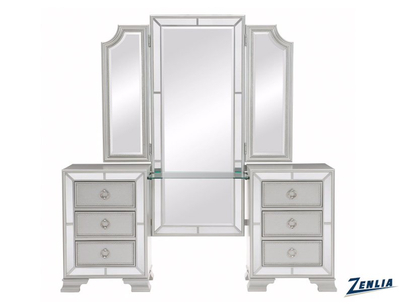 Avon Vanity With Mirror