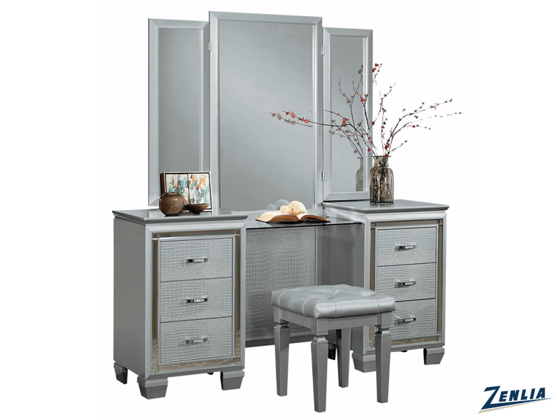 Allur Vanity With Mirror