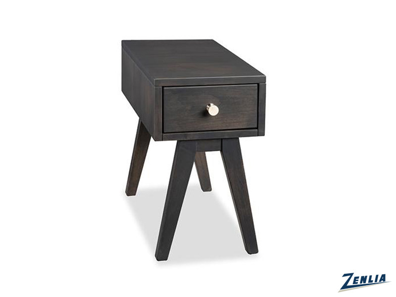 Tribe Chair Side Table With Drawer