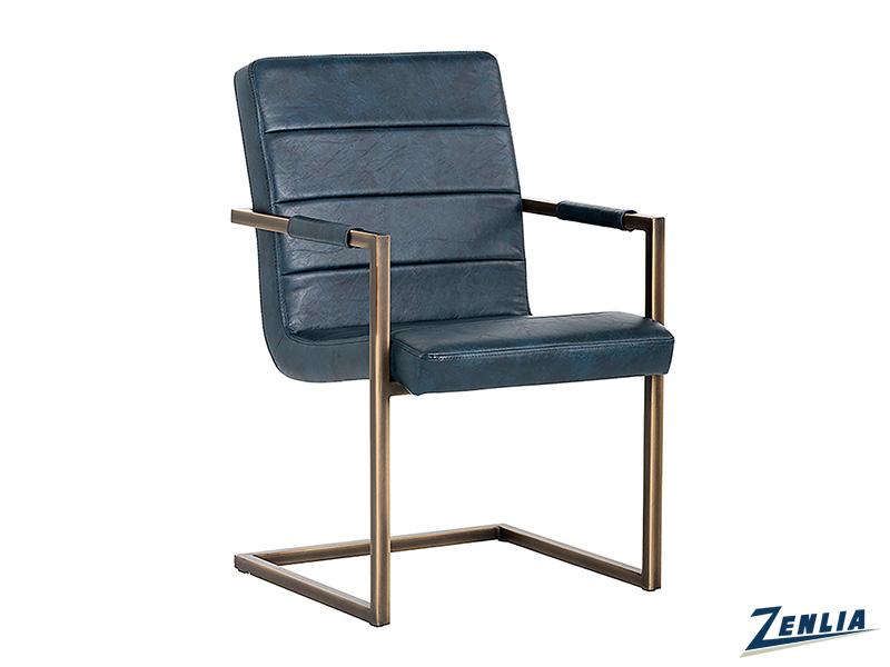 Jafa Armchair In Vintage Blue