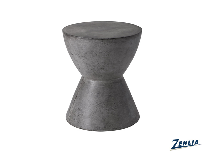 log-grey-end-table-image