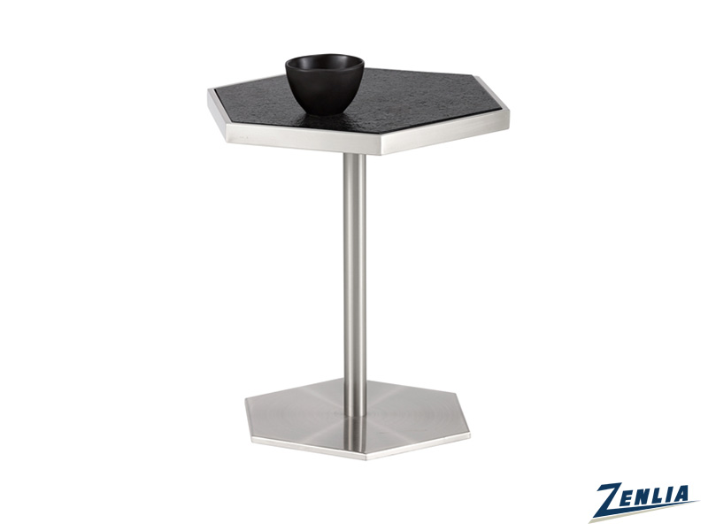 Seba Stainless Steel End Table