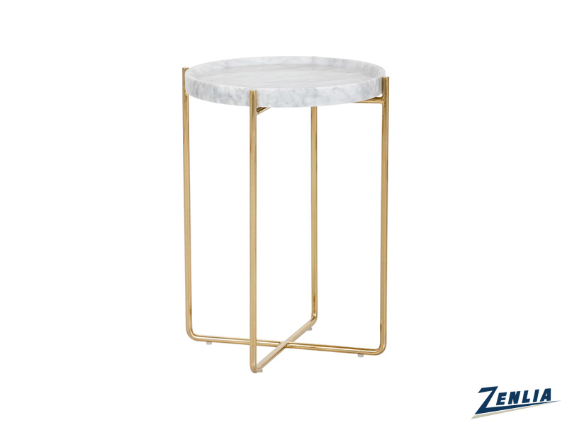 Li Marble Table White