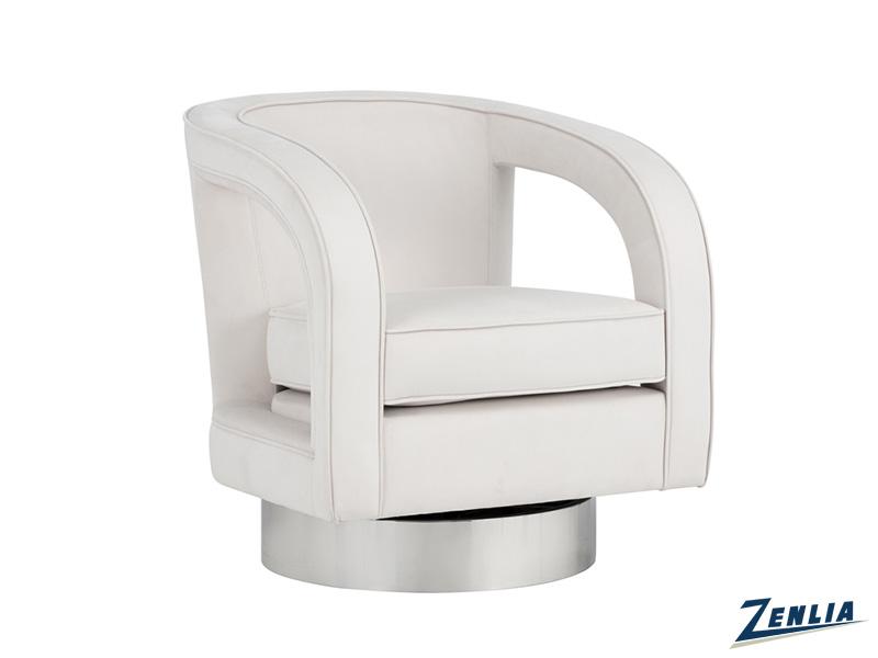 Ant Swivel Club Chair-  Antonio Porcelain