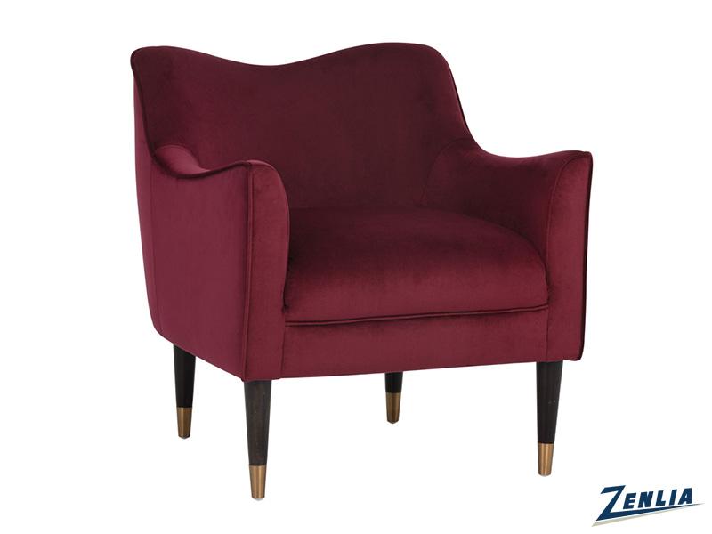 Bow Chair Burgundy Sky