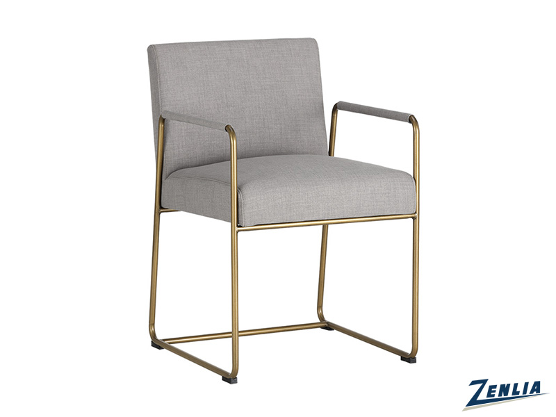 Balf Arm Chair Arena Cement