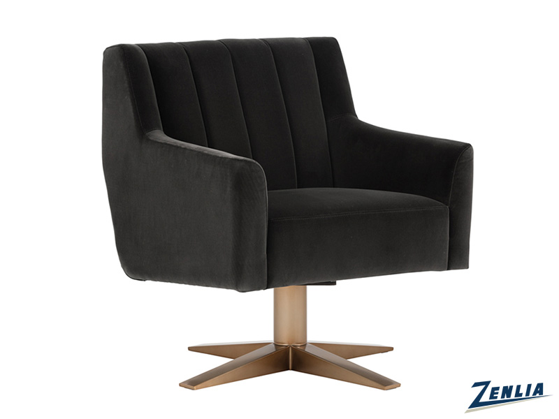 Cent Swivel Chair - Giotto Shale Grey