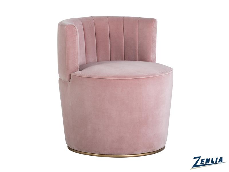 Aug Chair  Blush Pink