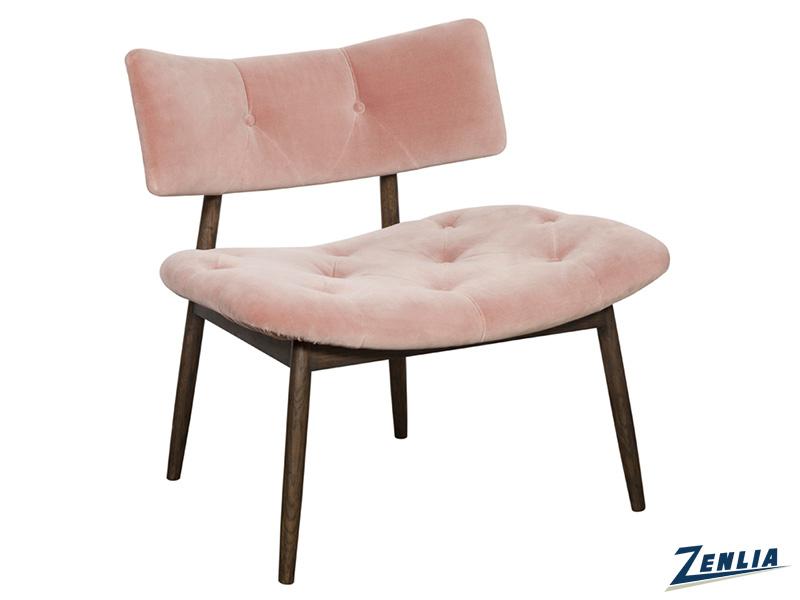 Mari Lounge Chair - Blush Pink