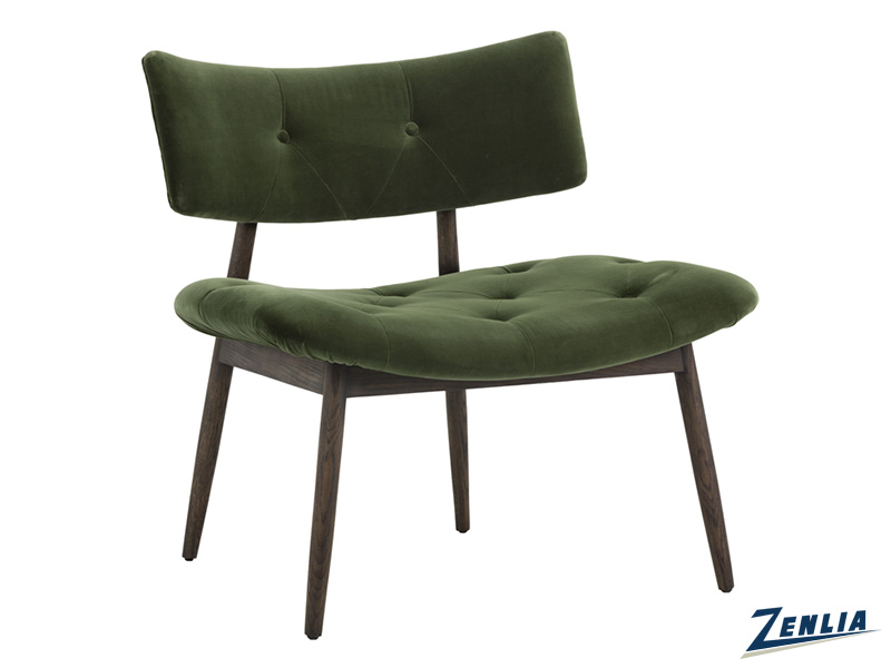 Mari Lounge Chair - Forest Green