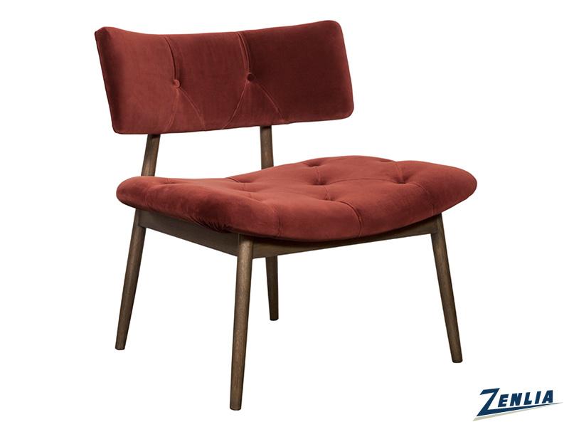 Mari Lounge Chair - Merlot