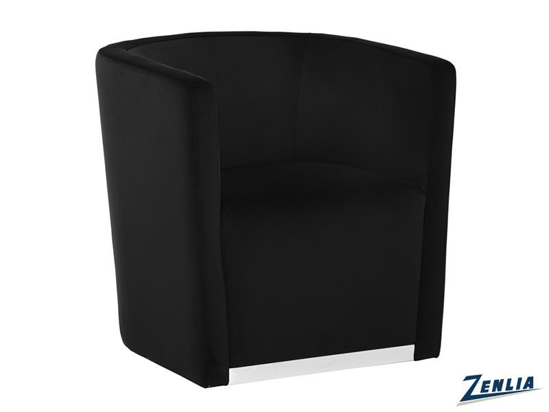 Que Swivel Chair - Abbington Black