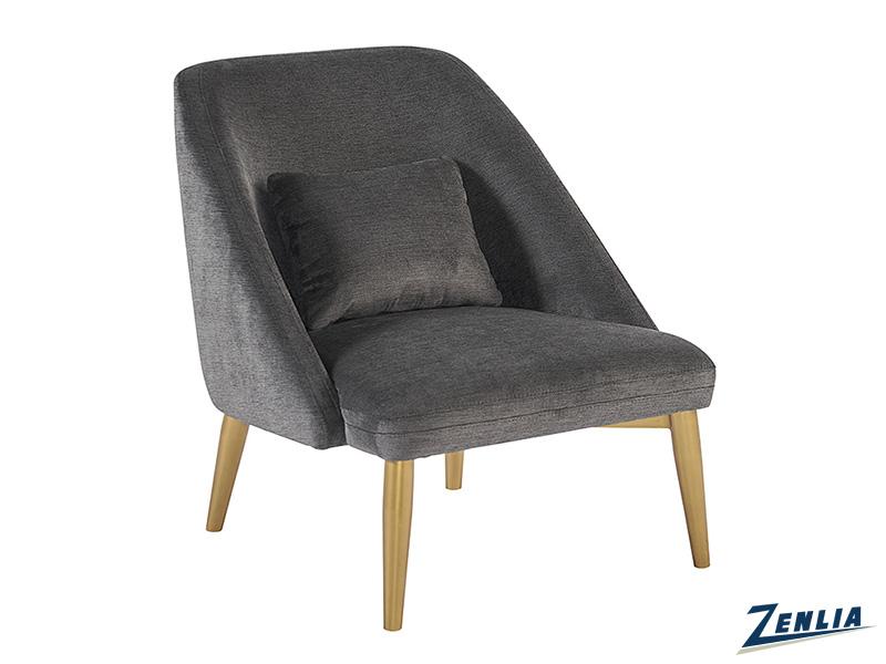 Rile Lounge Chair - Polo Club Kohl Grey