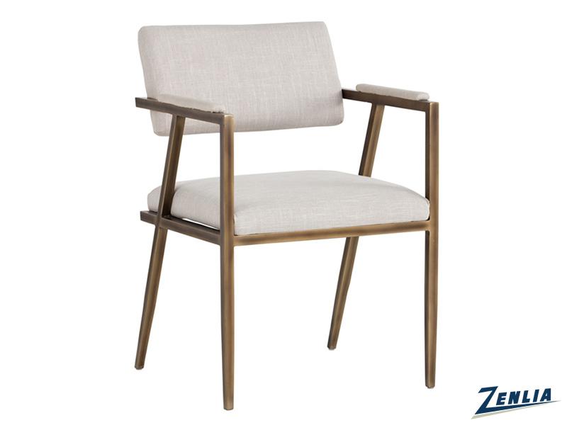 Vent Armchair - Beige Linen