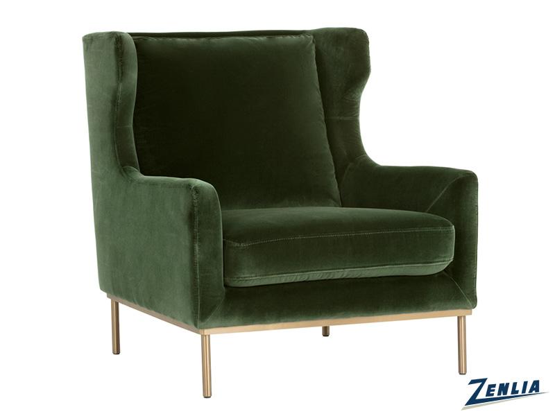 Vir Chair - Moss Green