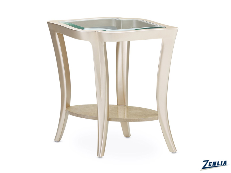 Malib Glass End Table