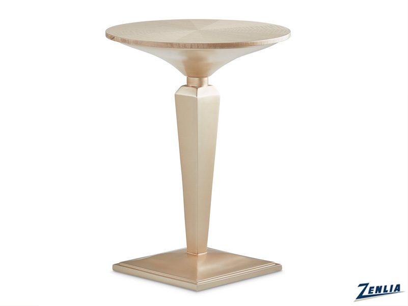 Malib Round Accent Table