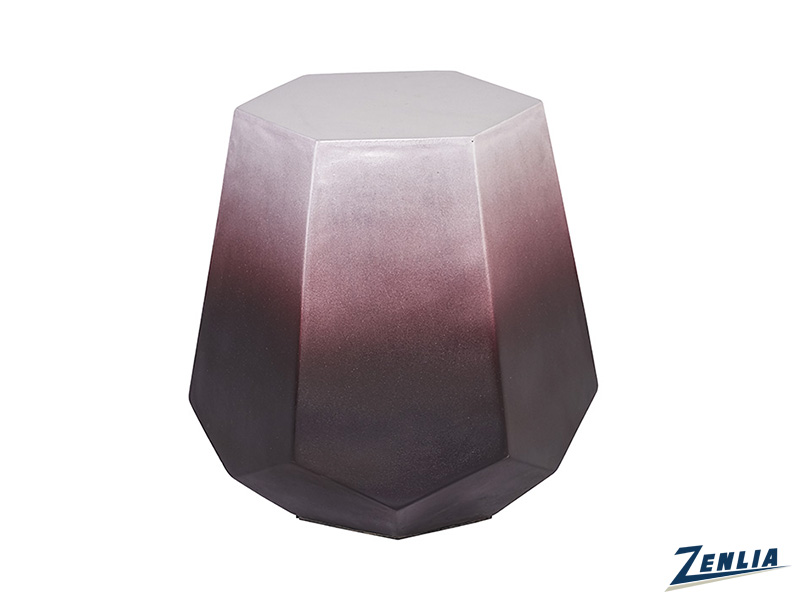 Elo Deep Red End Table
