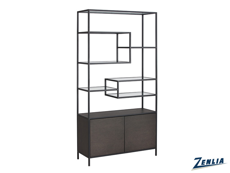 stam-charcoal-grey-bookcase-image